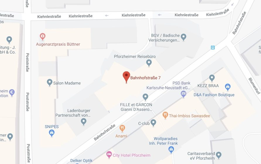 Pforzheim Karte.Stiftung Ddi Deutsches Diamant Institut